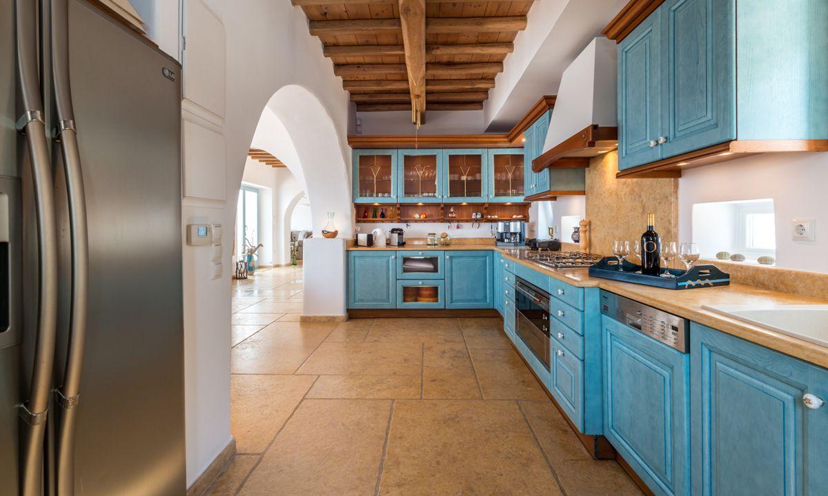 kitchen villa patra kanalia