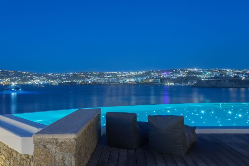 villa julio mykonos views