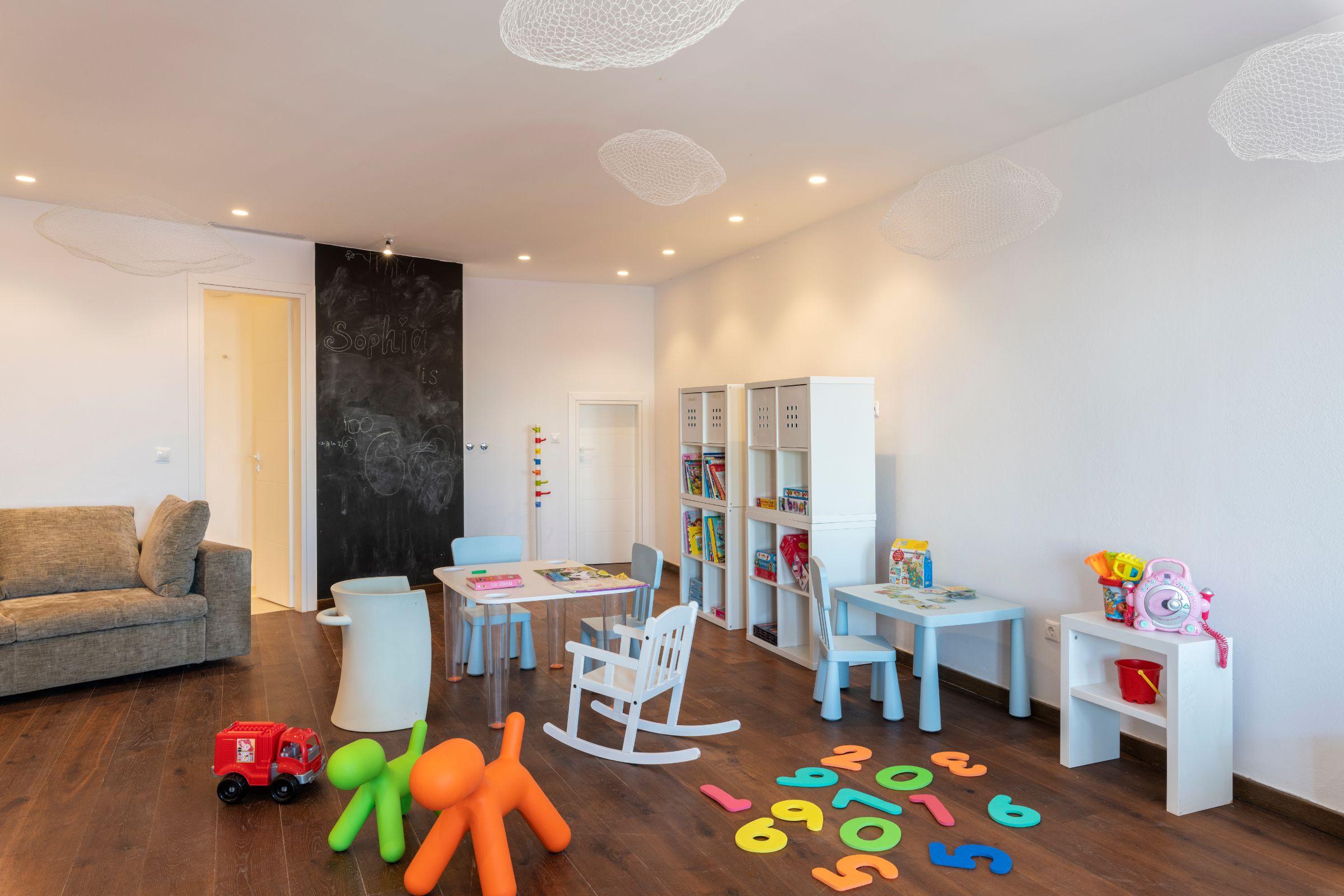 villa kastro l kanalia play room