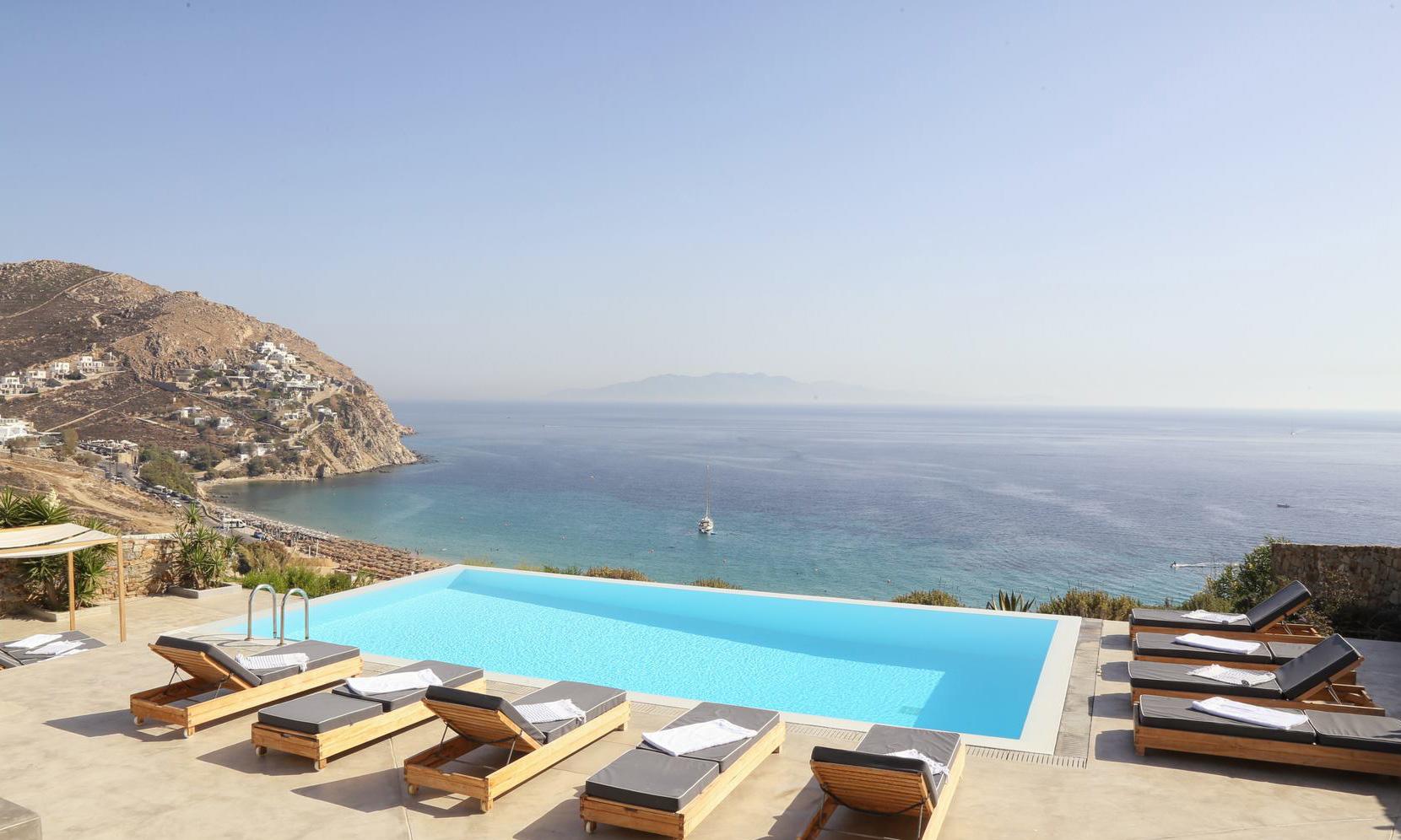 villa elia sea breeze pool