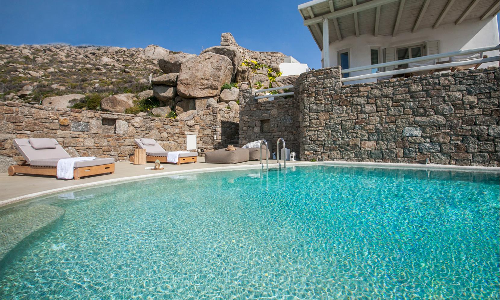 villa gialos mykonos terrace