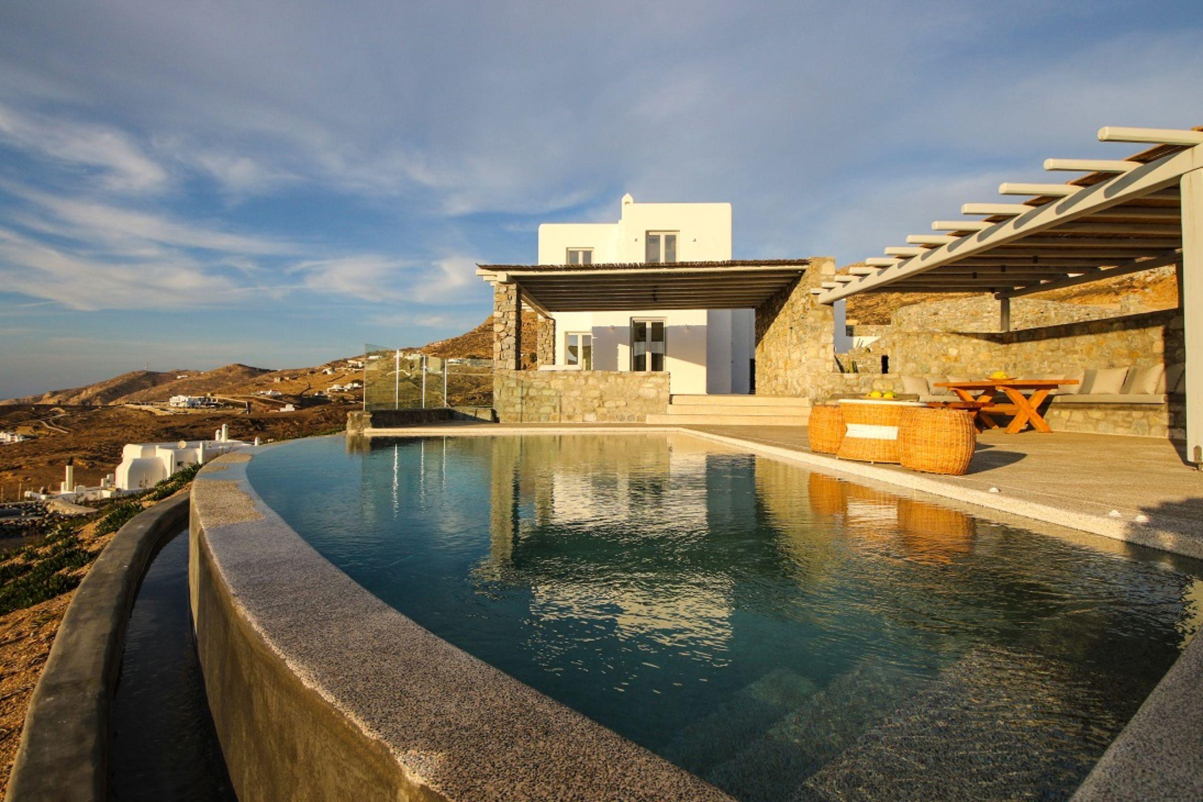 villa luca ftelia pool