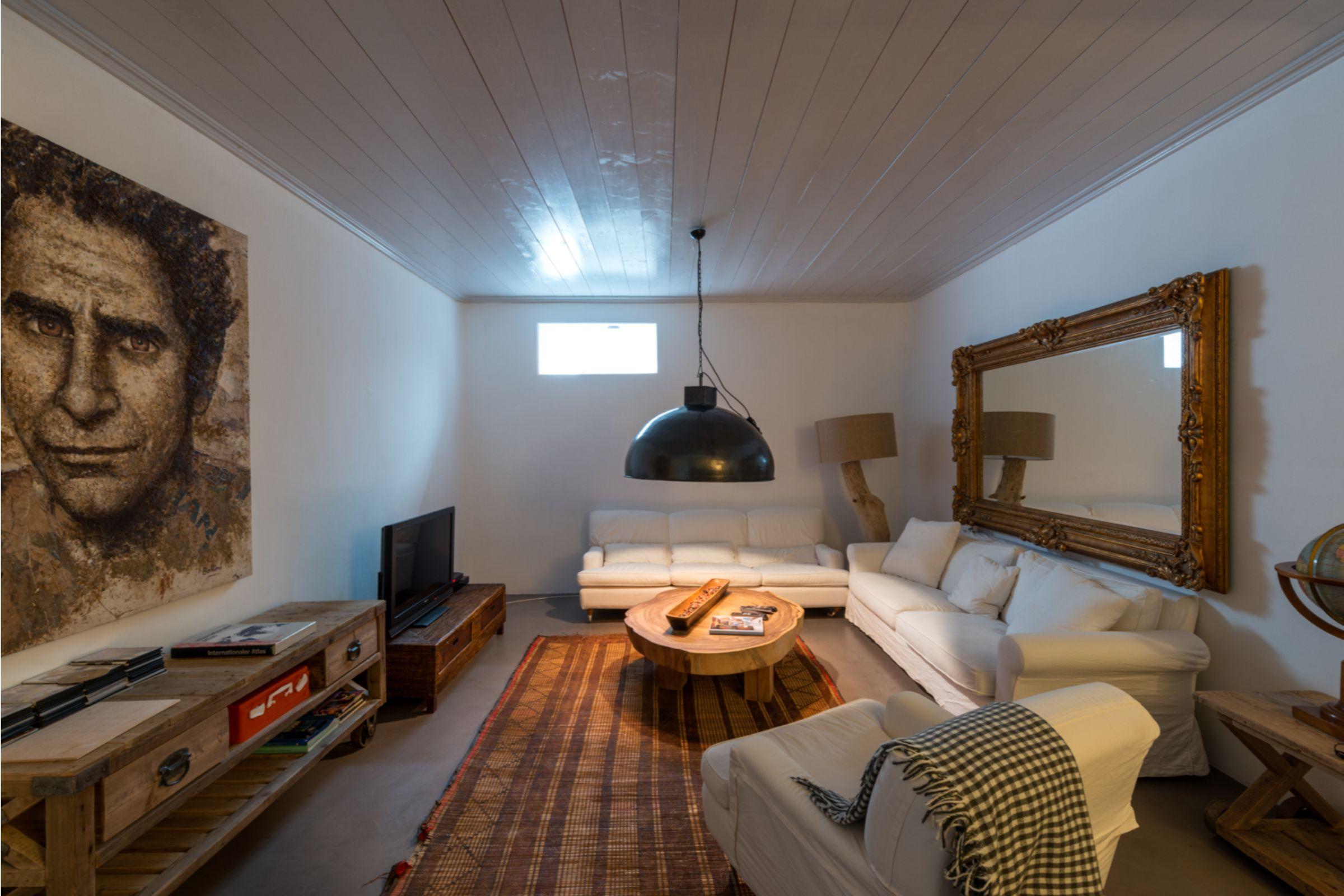 interior villa alva panormos bay