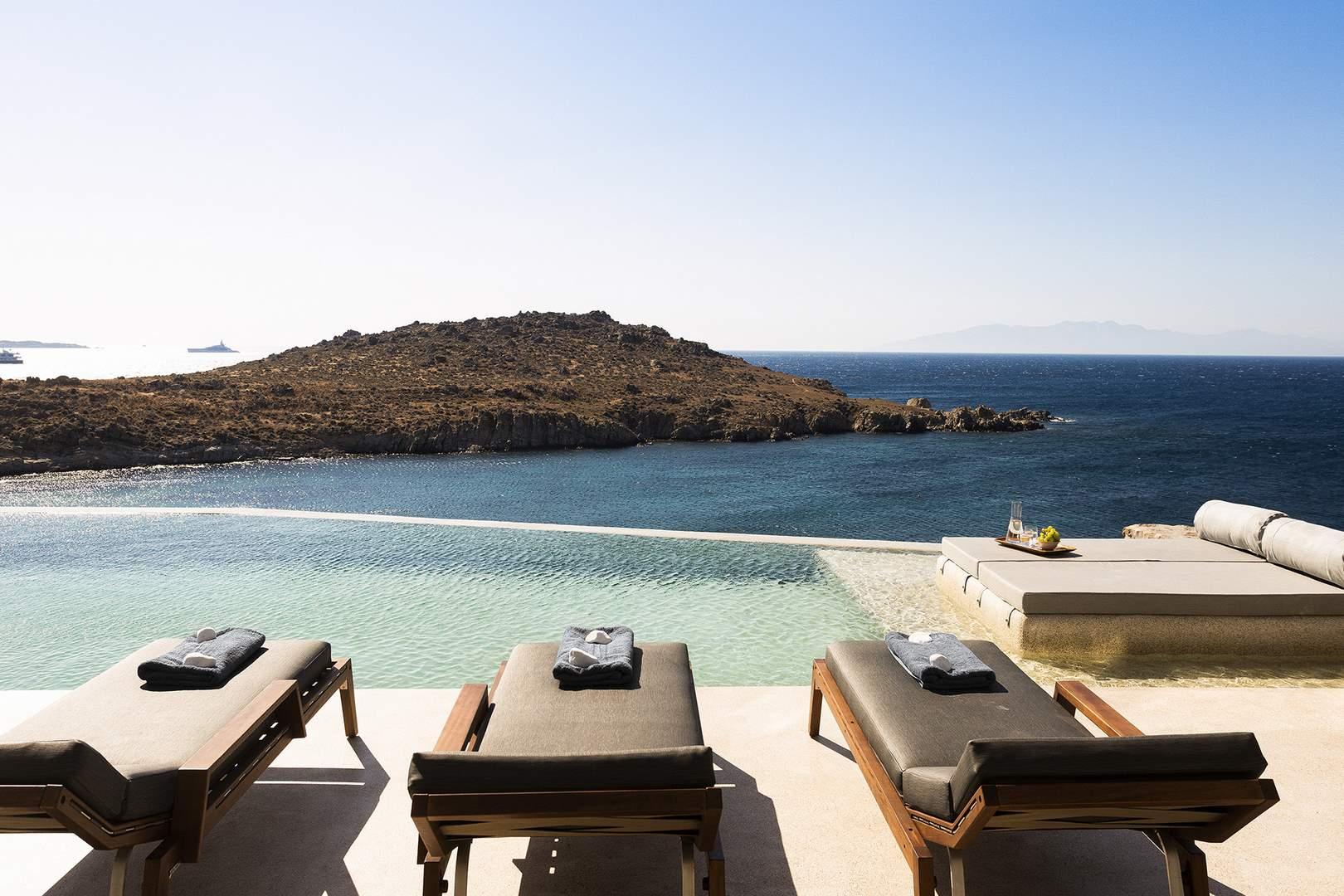 villa aleomandra cove sea views