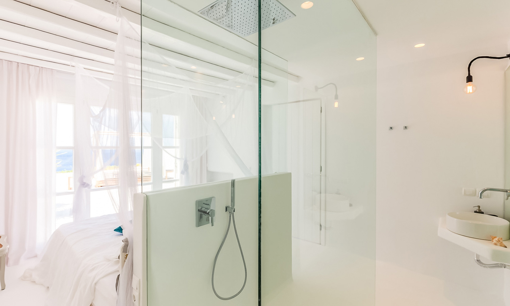 shower villa elia sea breeze
