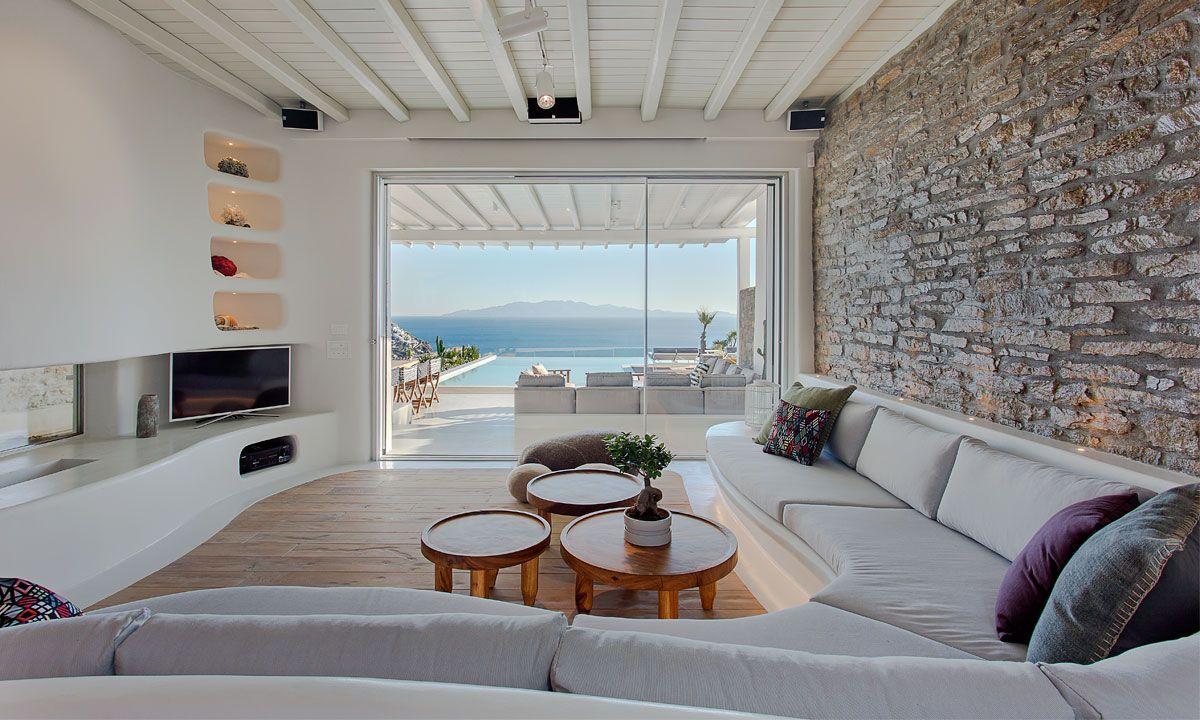 villa alina elia beach