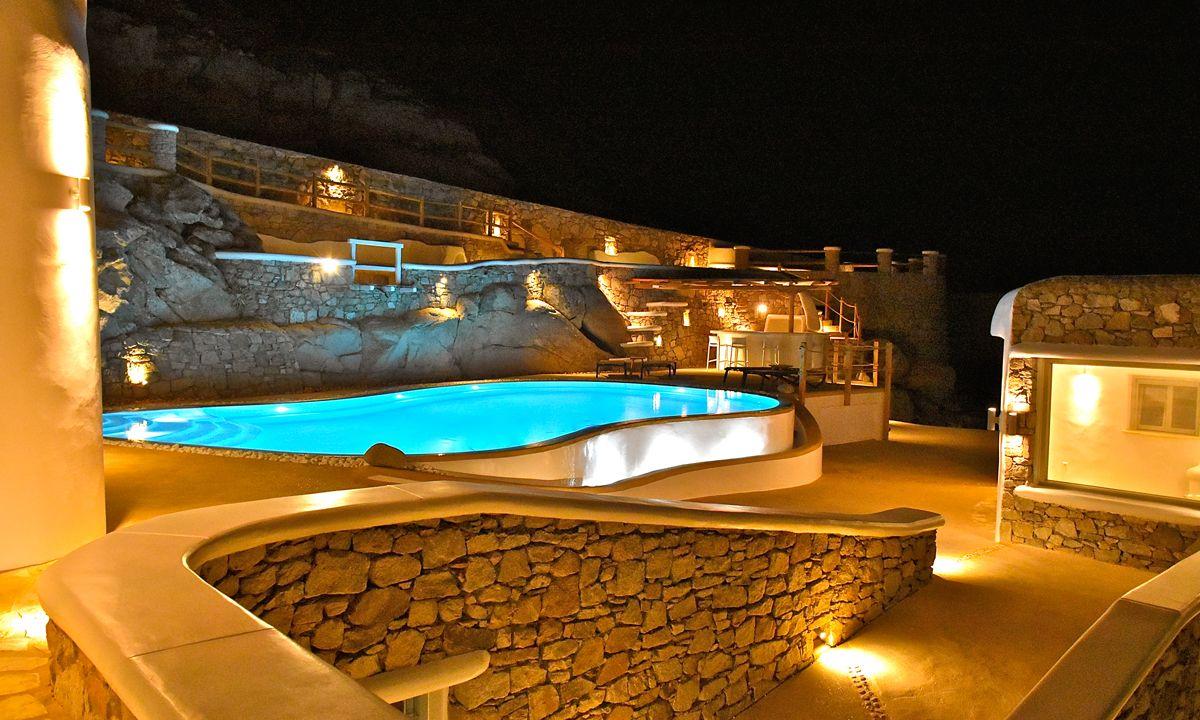 villa patra kanalia pool