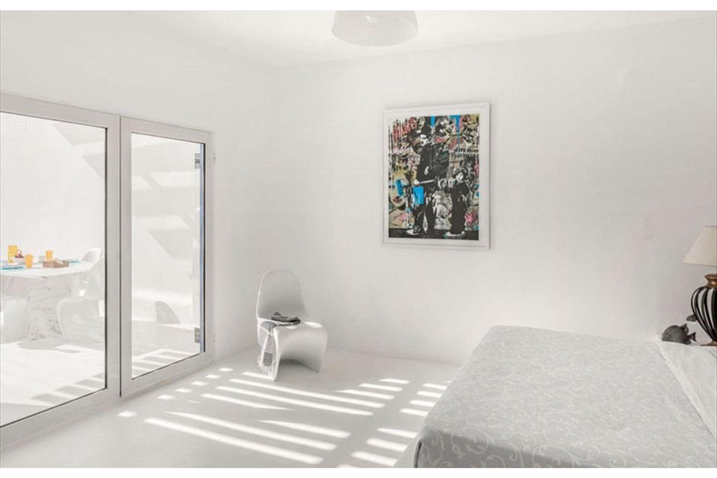 villa anafi agios lazaros bedroom