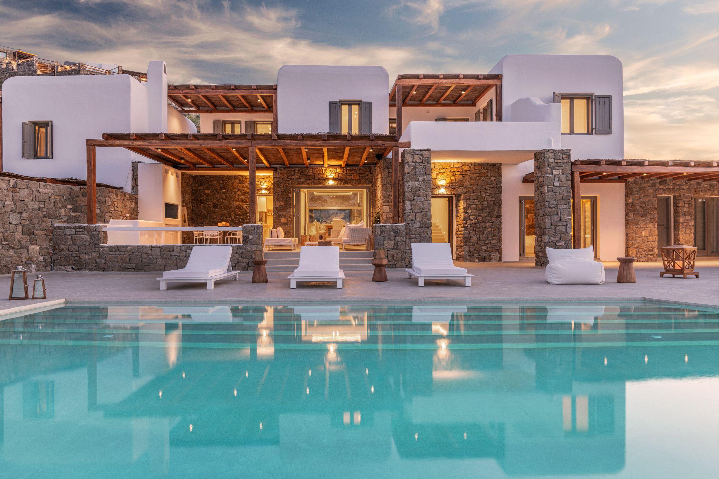 villa kastro 1 kanalia pool