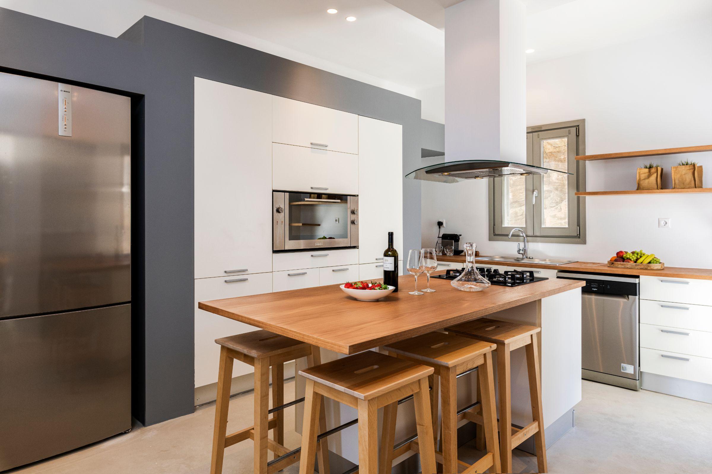 kitchen villa kastro 1 kanalia