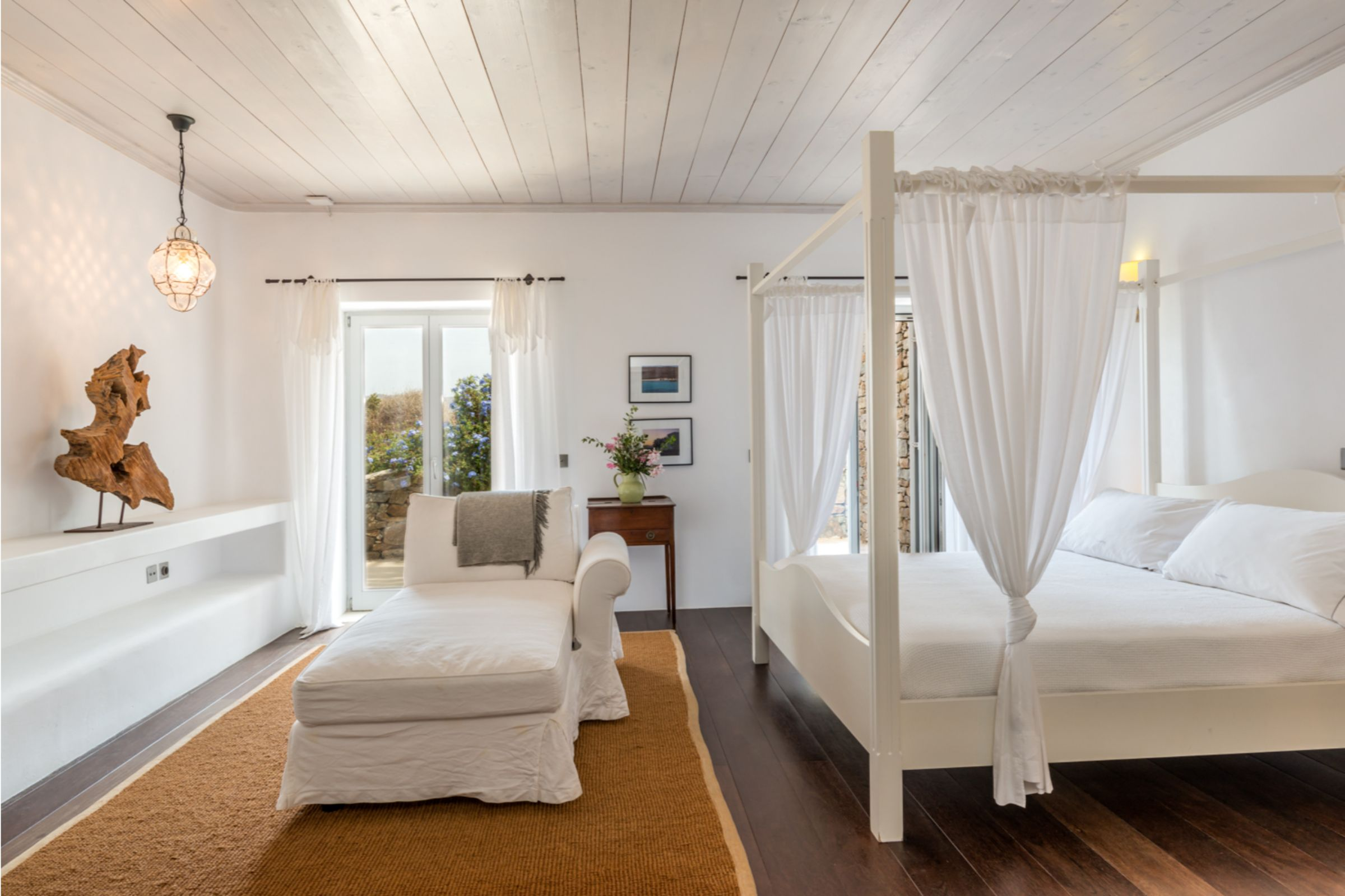 bedrooms villa alva panormos bay