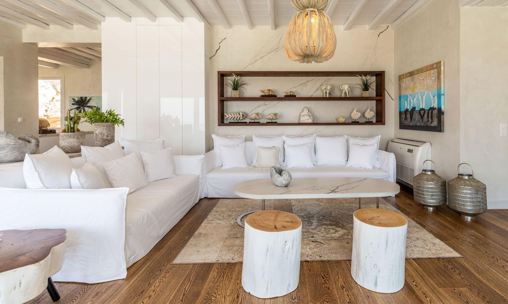 villa calico agios ioannis lounge