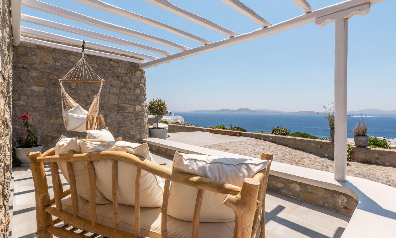 villa calico agios ioannis views