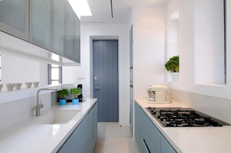 villa flavio agios ioannis kitchen