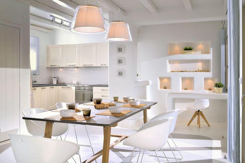 villa kiki elia beach kitchen