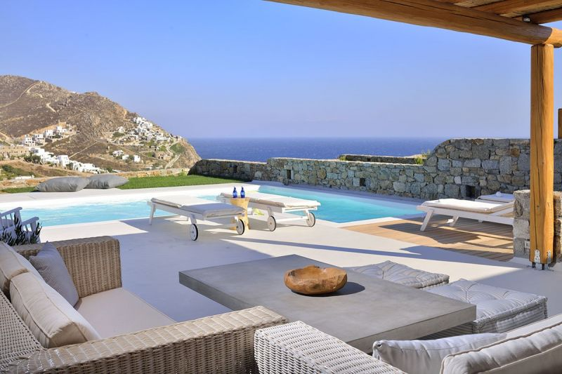 villa kiki elia beach pool
