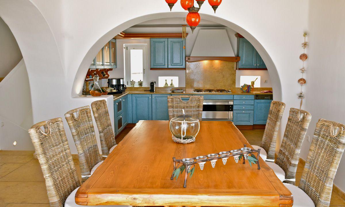 villa patra kanalia kitchen