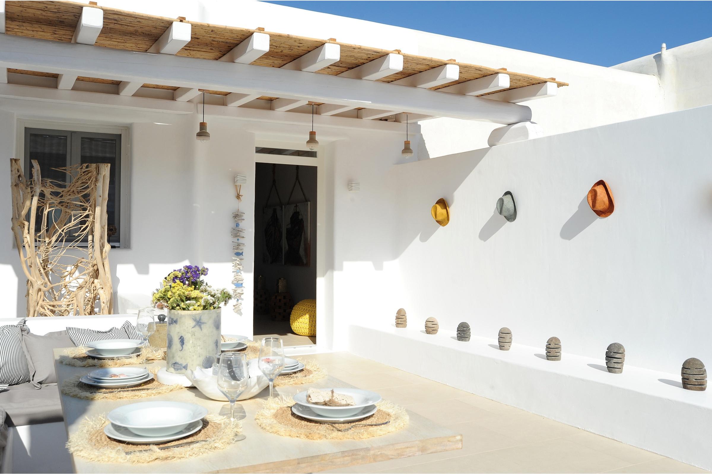 villas mykonos 2 bedrooms
