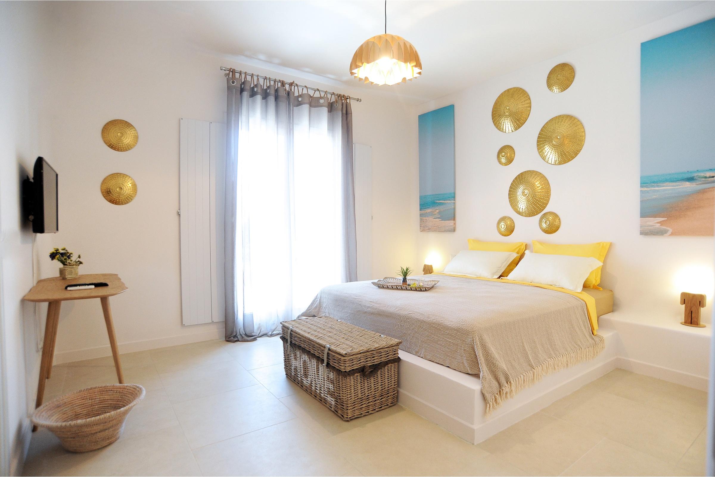villas mykonos bedrooms