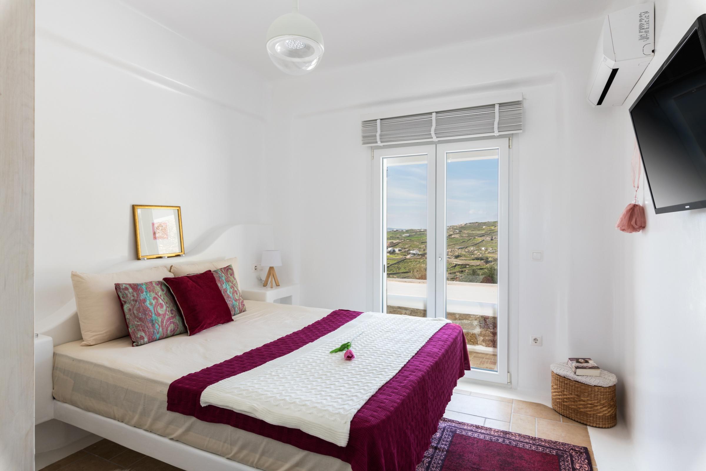 bedroom villa cecilia mykonos