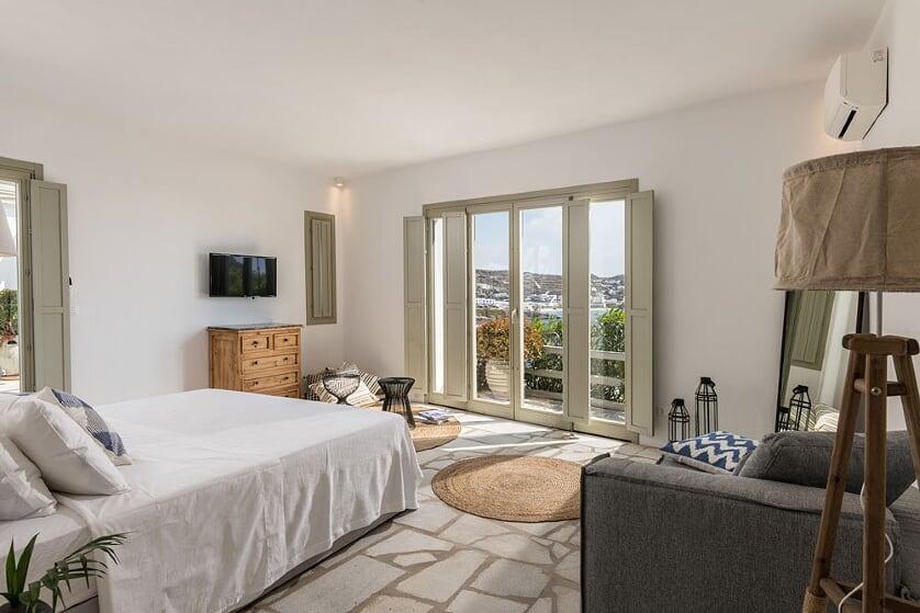 villa orinda agios lazaros bedroom
