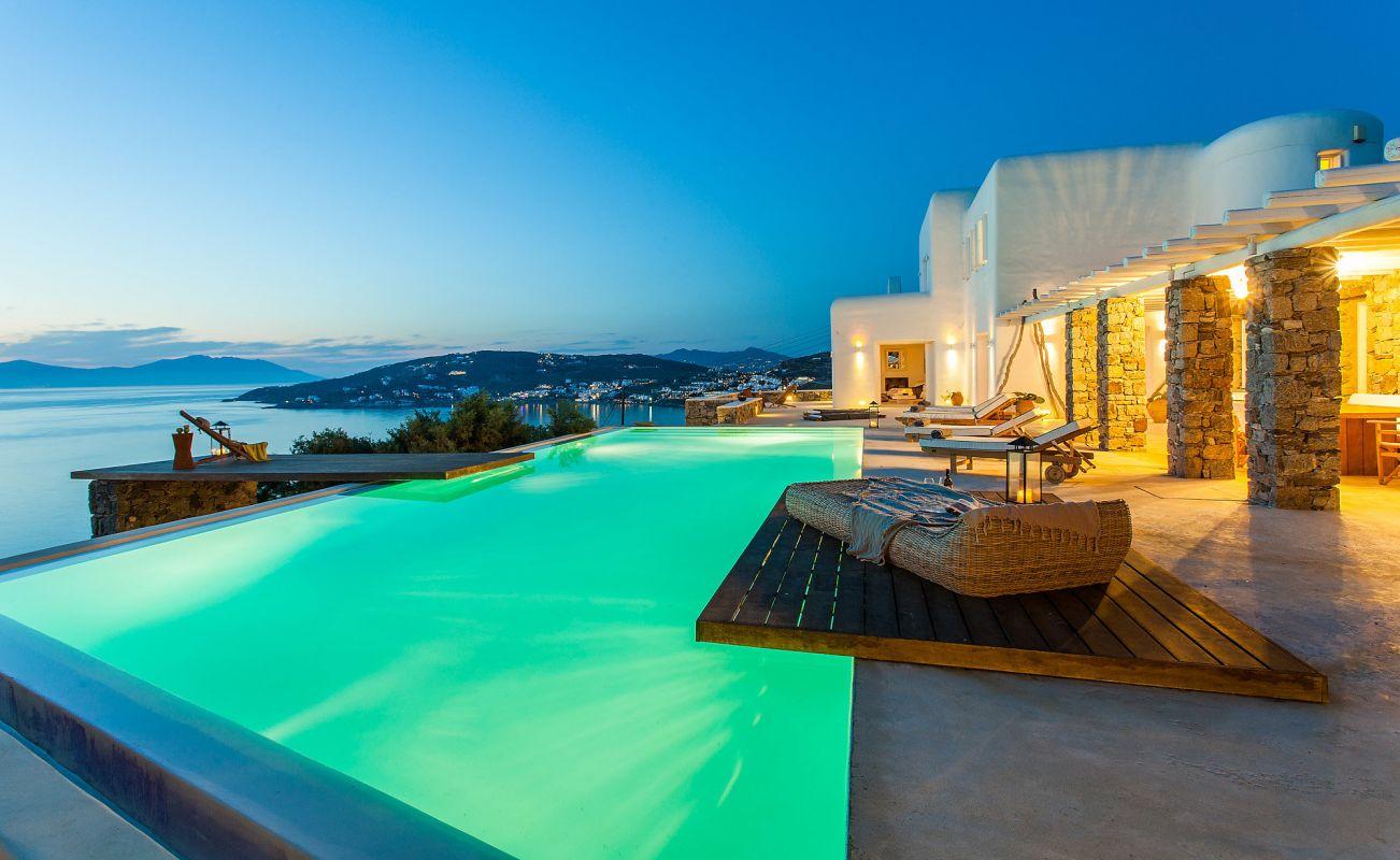 villa cassey aleomandra mykonos pool
