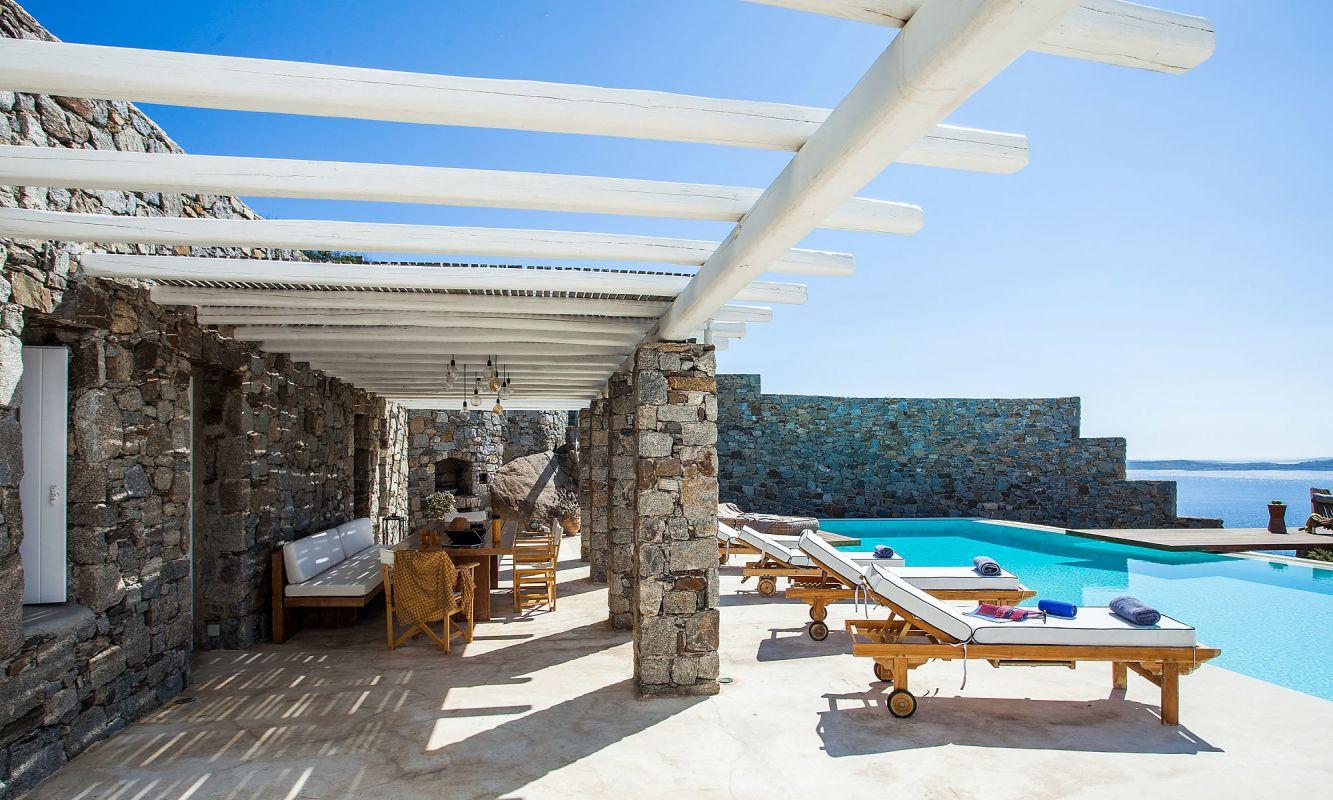 villa cassey aleomandra mykonos terrace