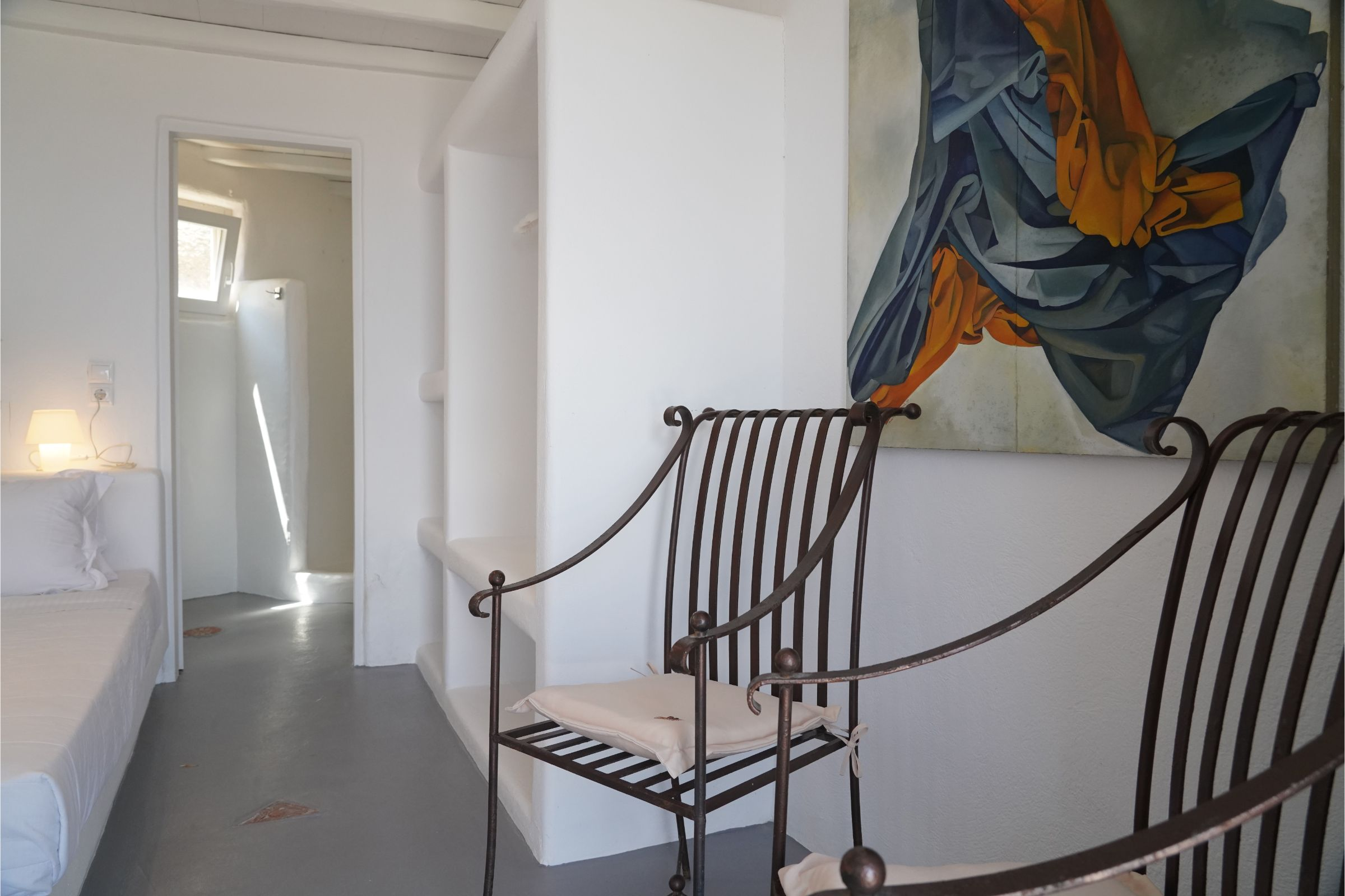 Villa Carina Pyrgi Mykonos interior
