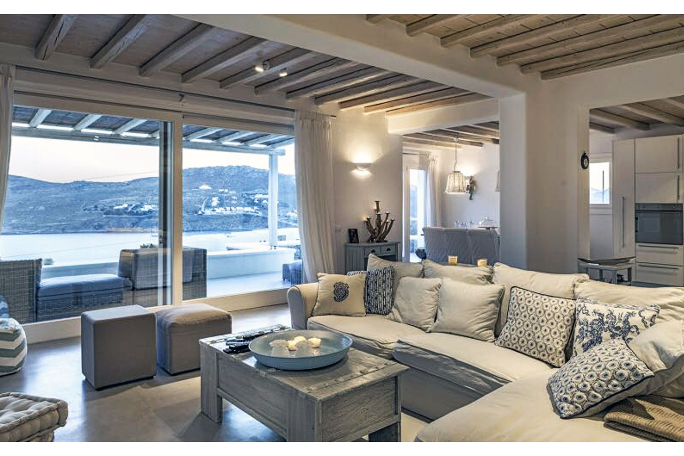 lounge villa summer blue mykonos