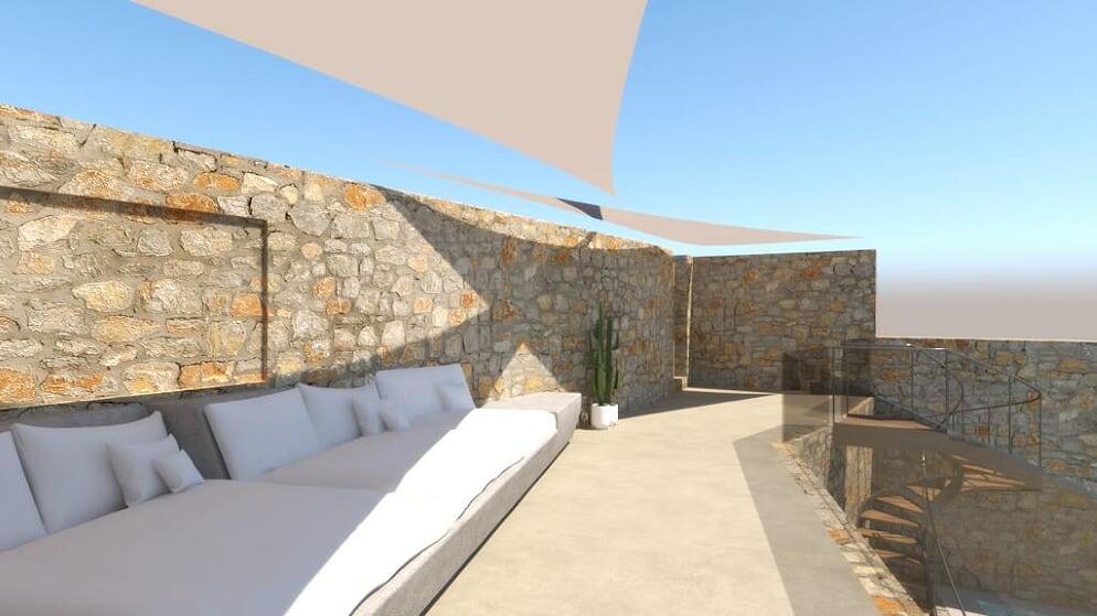 villa orinda agios lazaros terrace