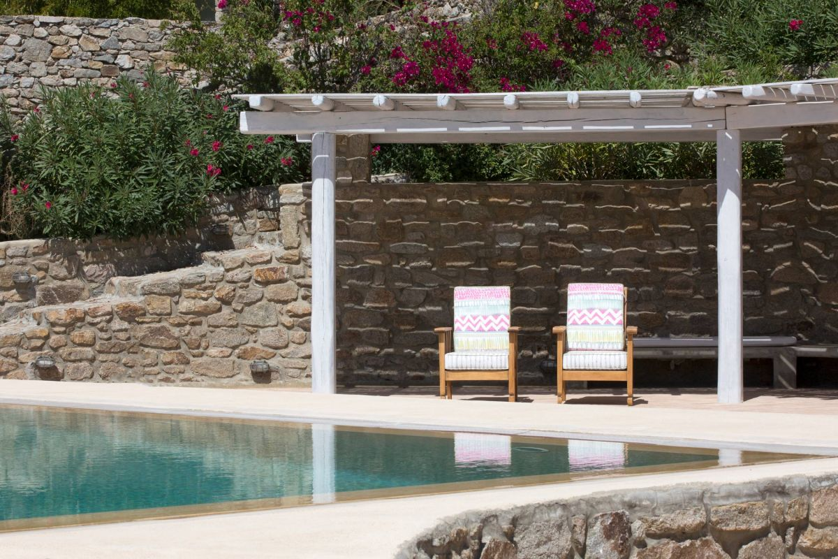 villa sunlight agios ioannis pool