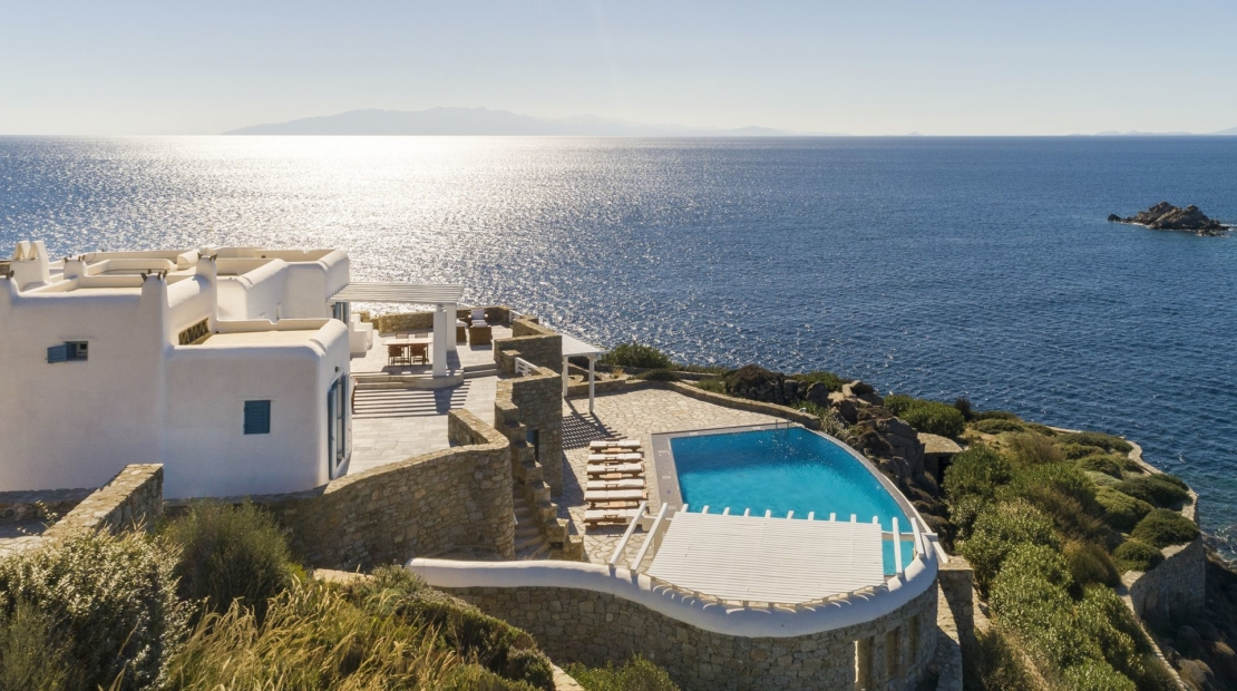 beach villas mykonos