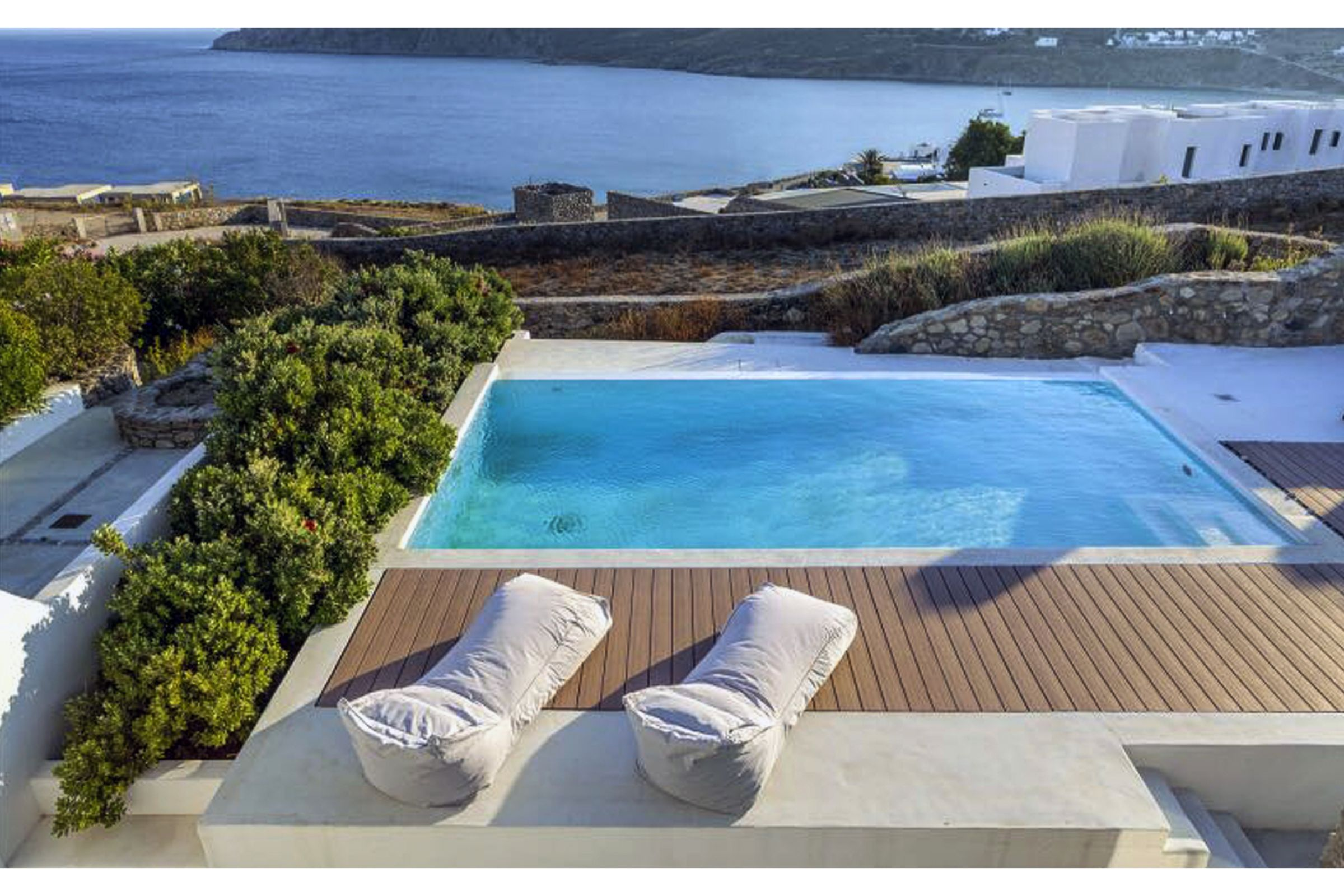 mykonos villas private pools