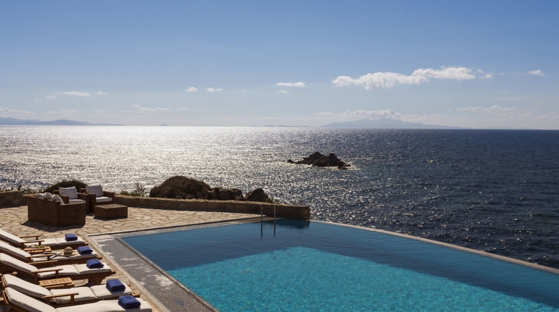 villas mykonos private pools