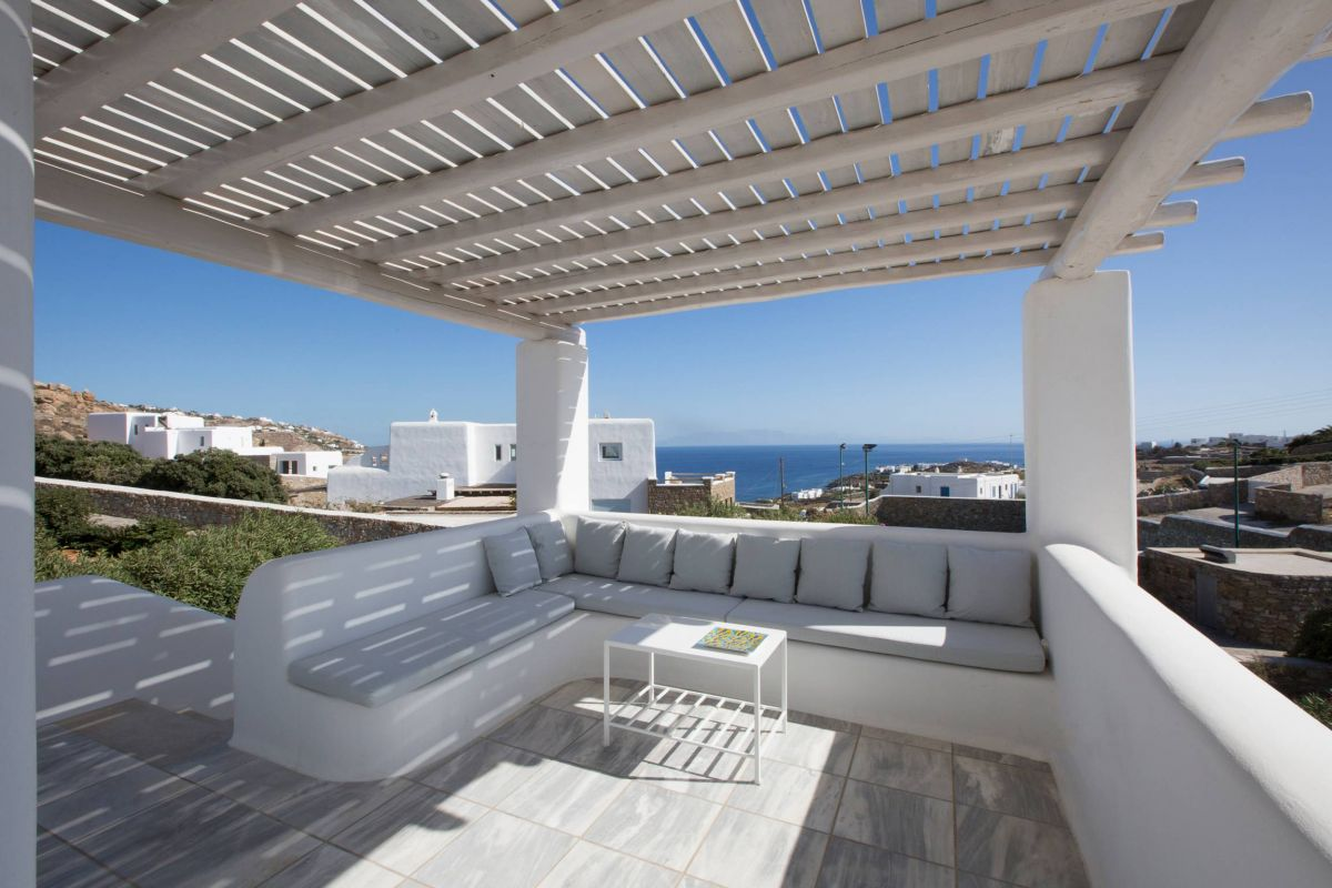 villa sunlight agios ioannis seating