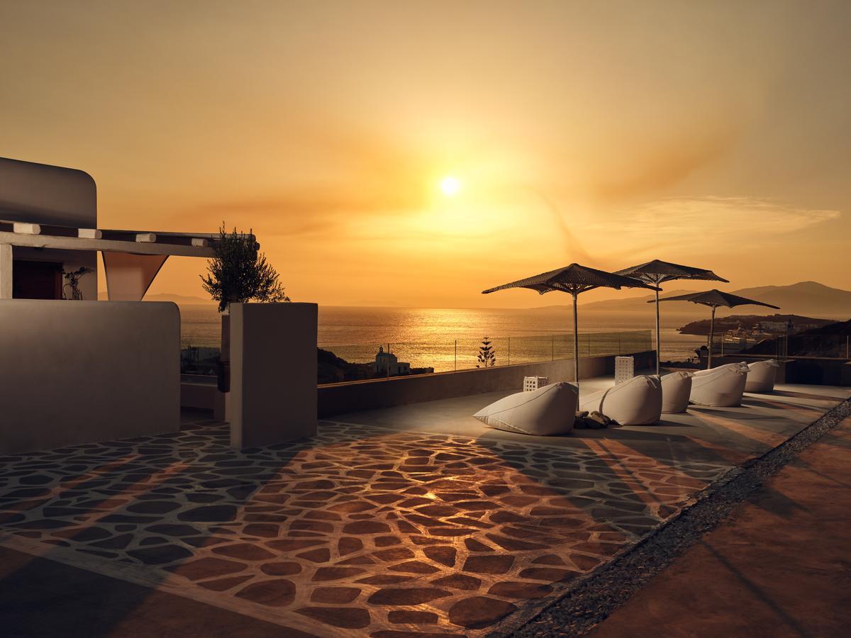sunset tourlos botique villas