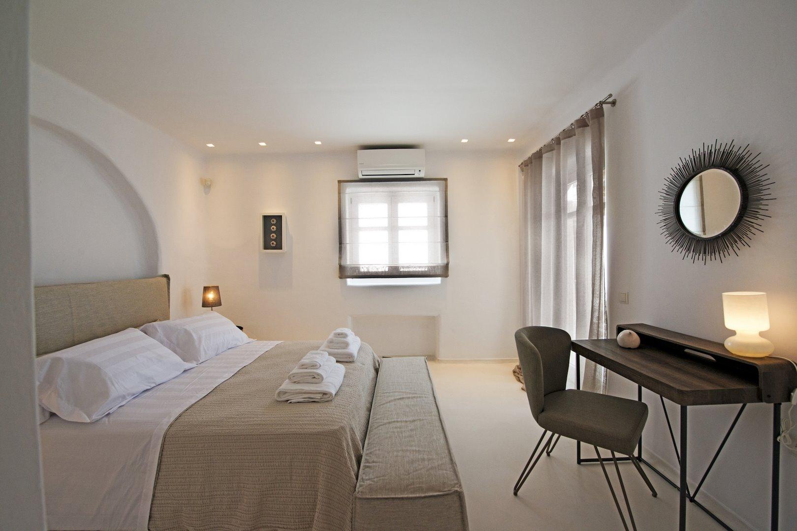 tourlos private estate bedroom