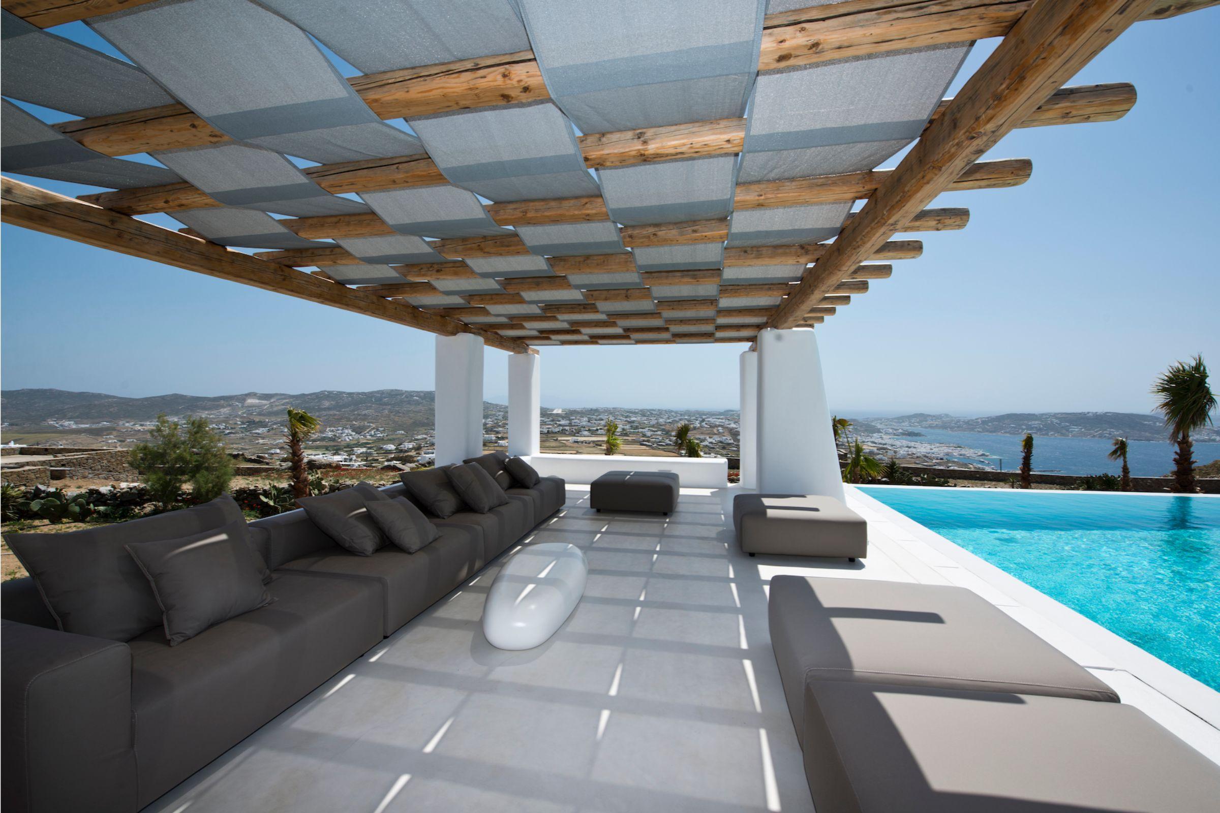 tourlos private estate pool