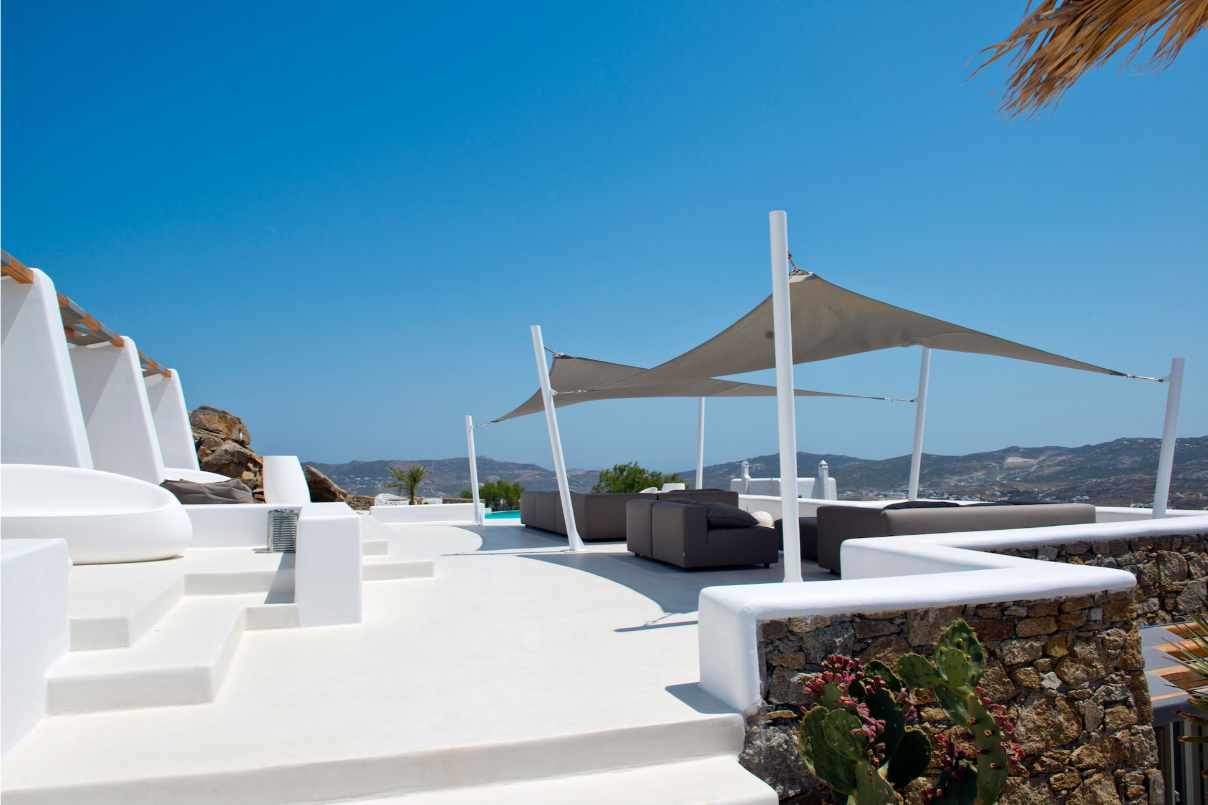tourlos private estate terrace