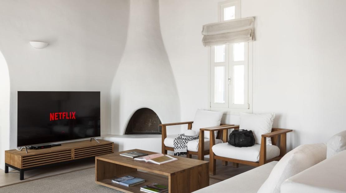 Villa aqua azul Agios Lazaros lounge