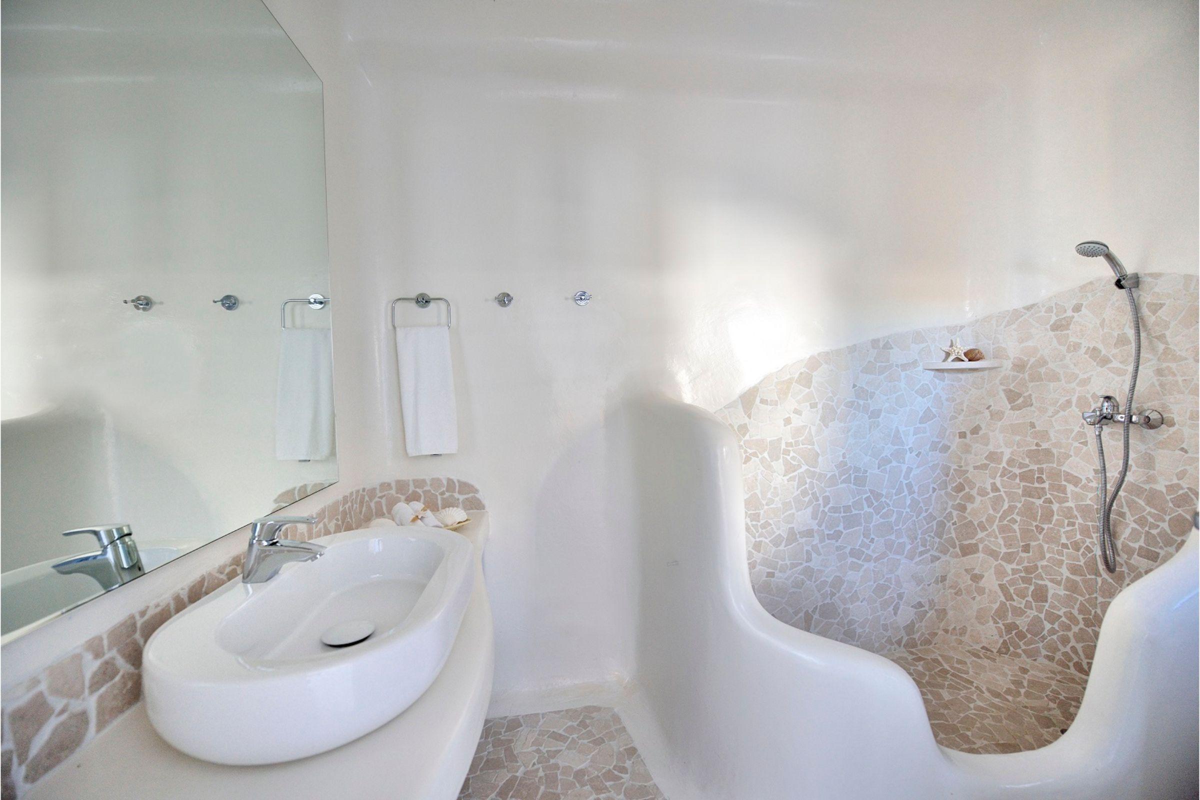 villa mykonian bianca shower