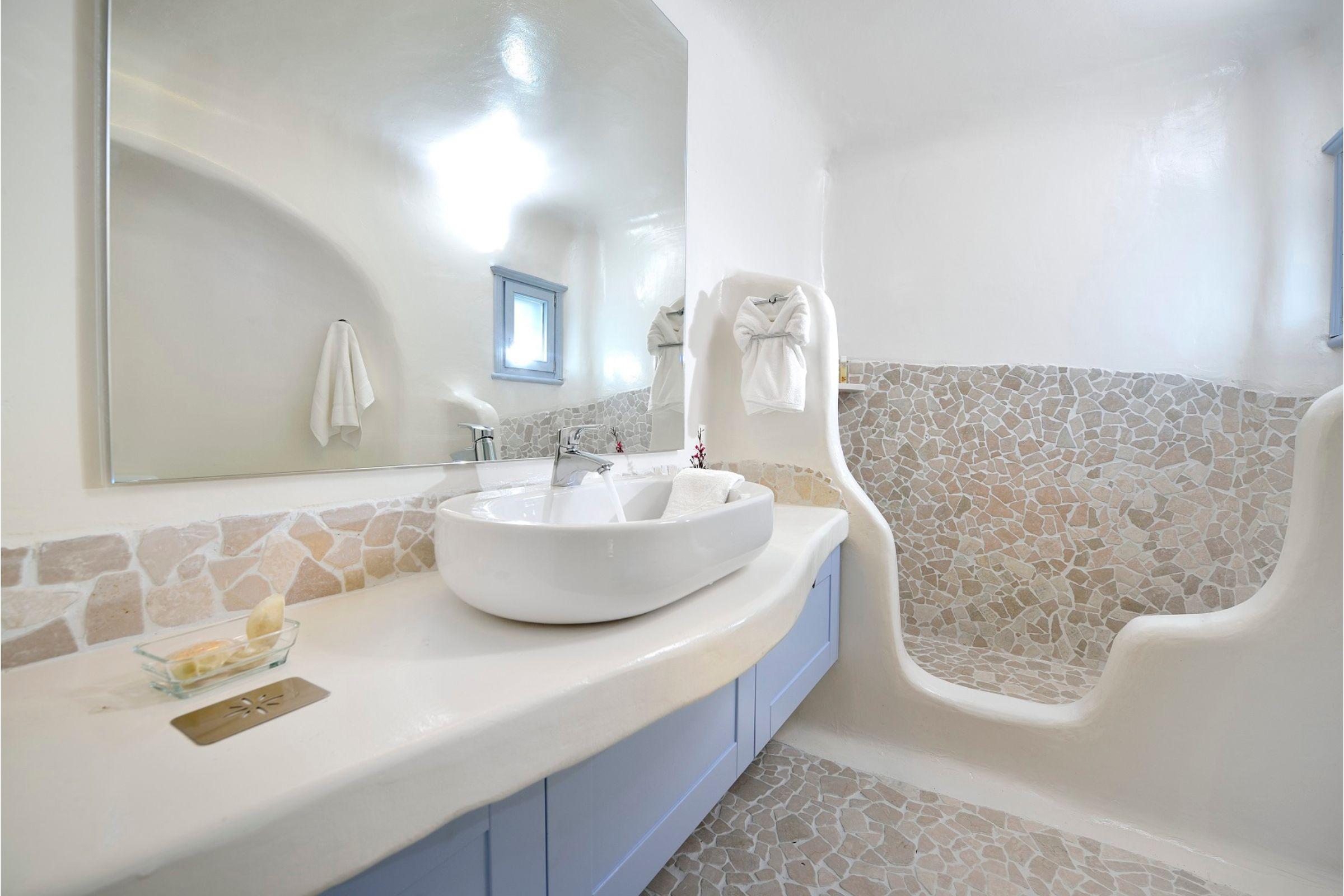 villa mykonian bianca bathrooms