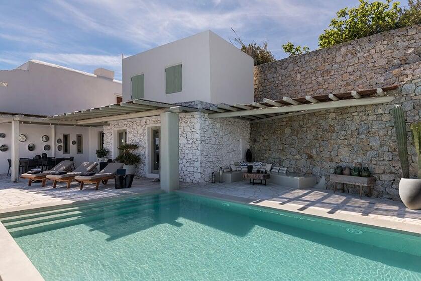 villa orinda agios lazaros pool