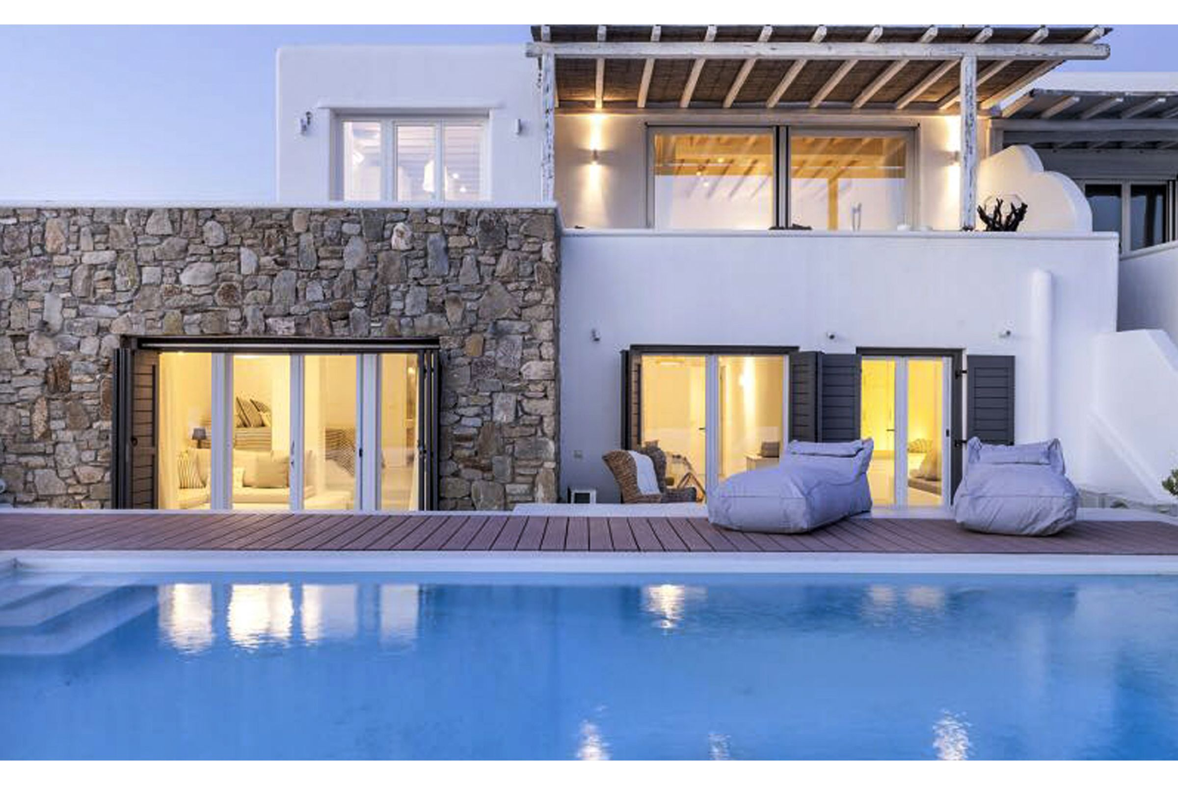 villa summer blue mykonos