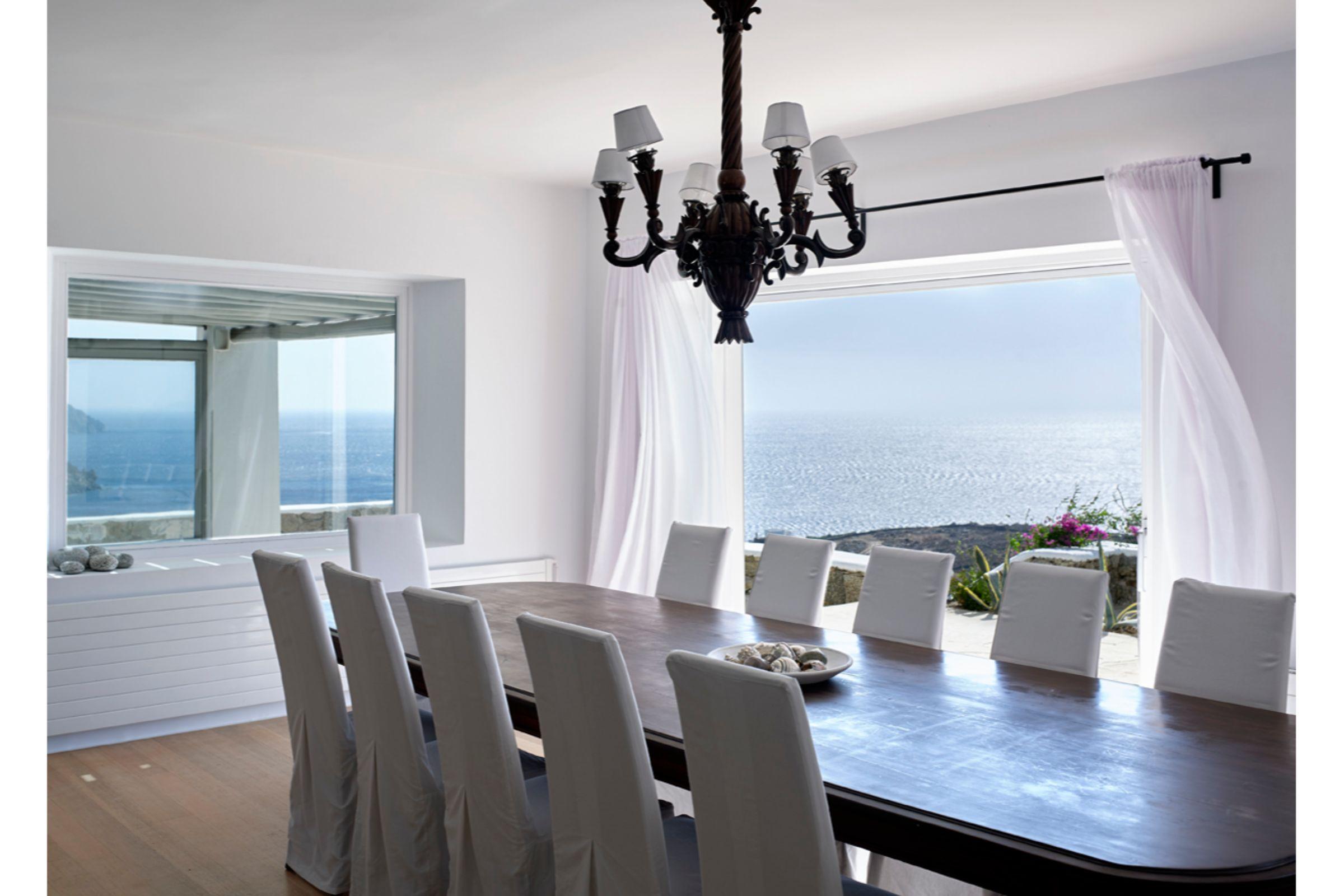 pyrgi private estate mykonos dining