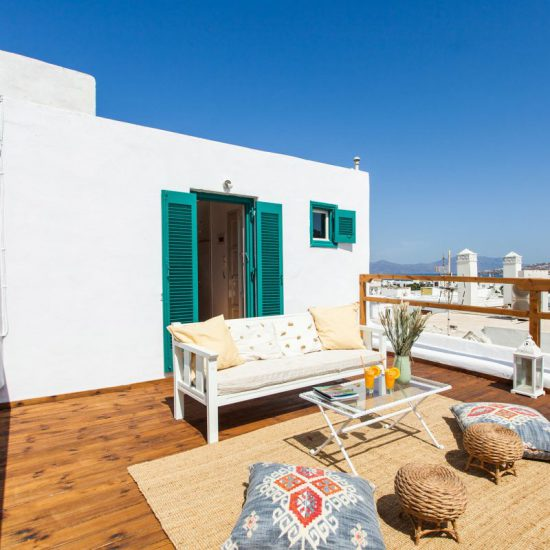 mykonos town apartments for rent