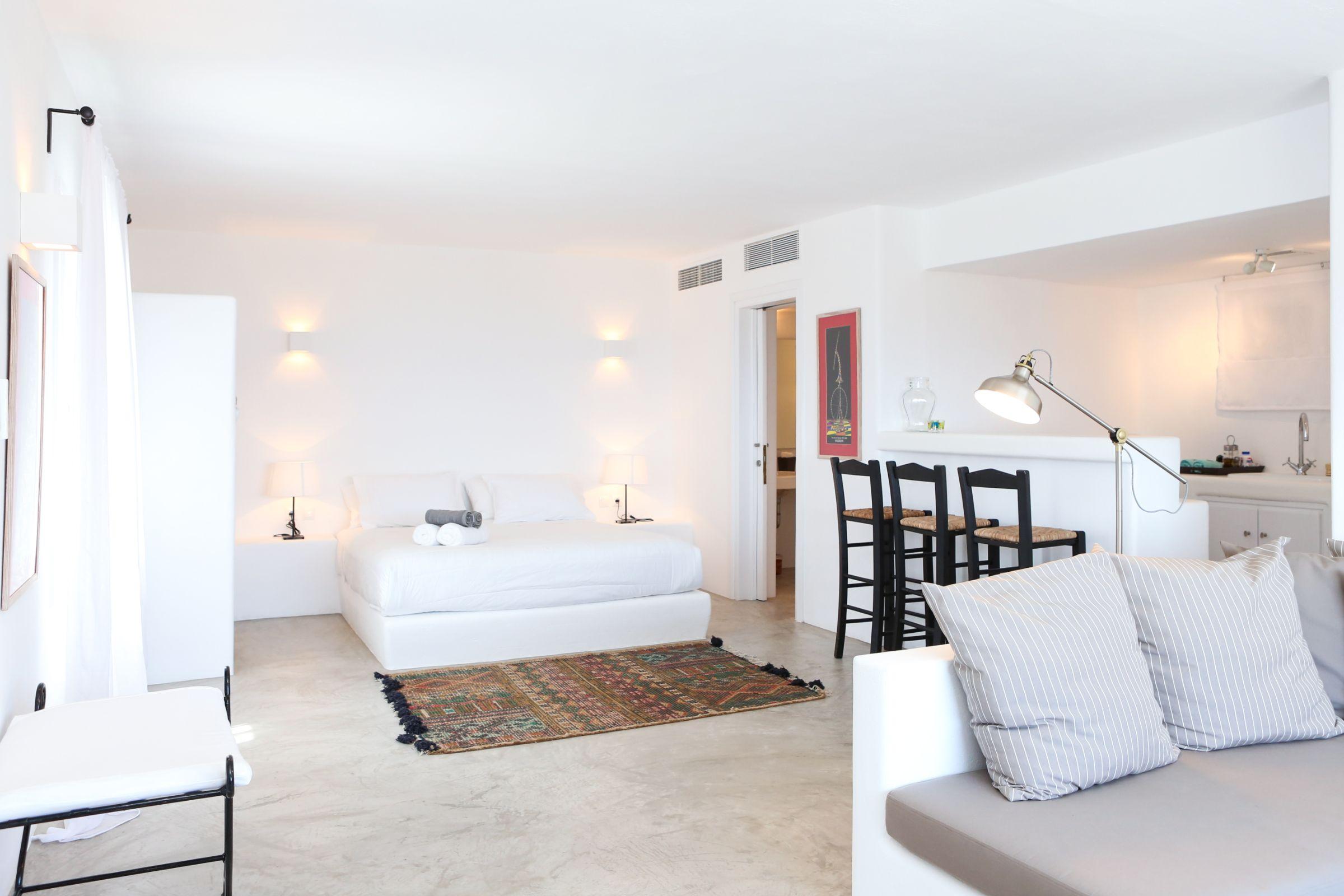pyrgi private estate mykonos double room