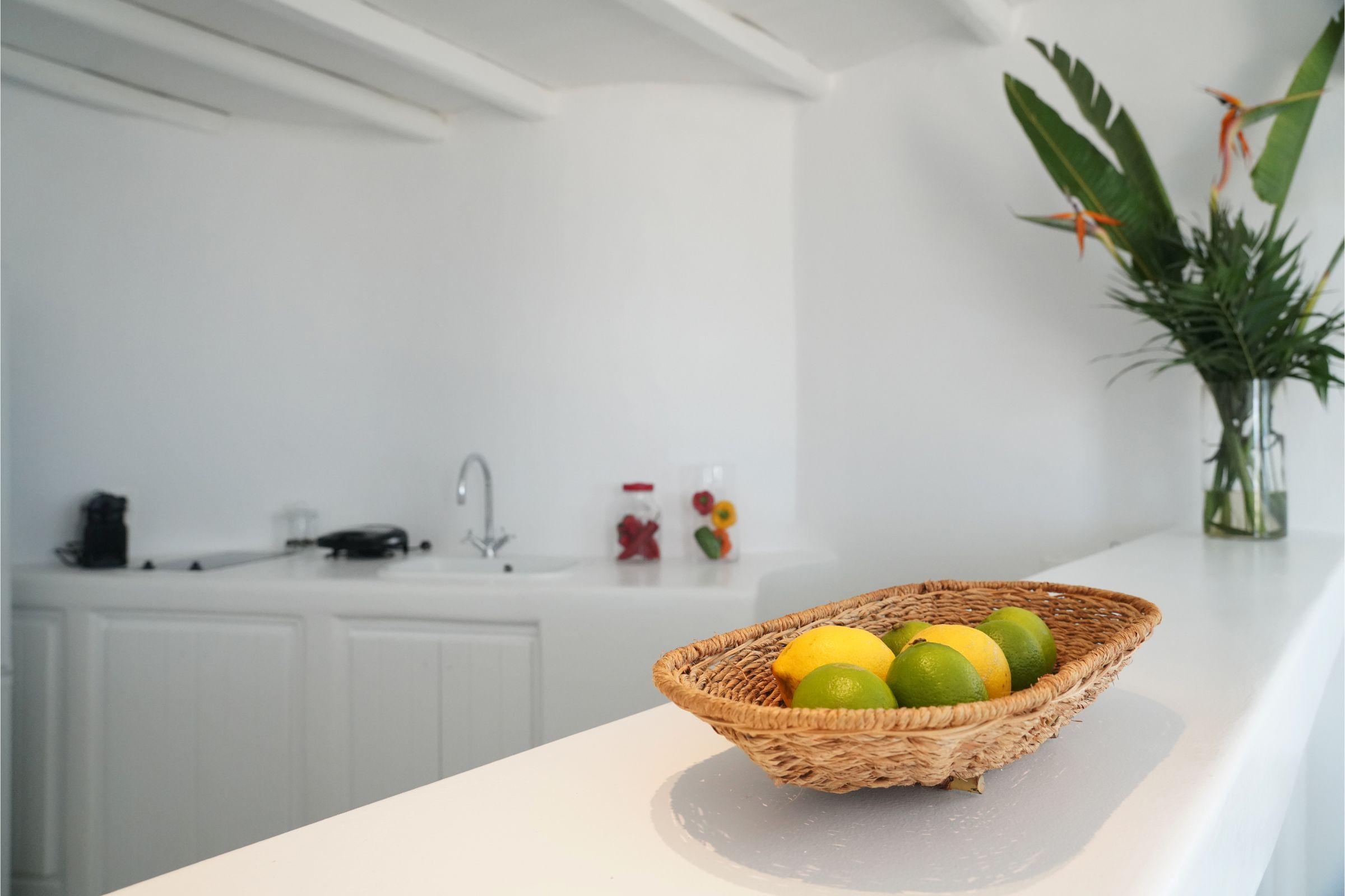pyrgi private estate mykonos kitchen