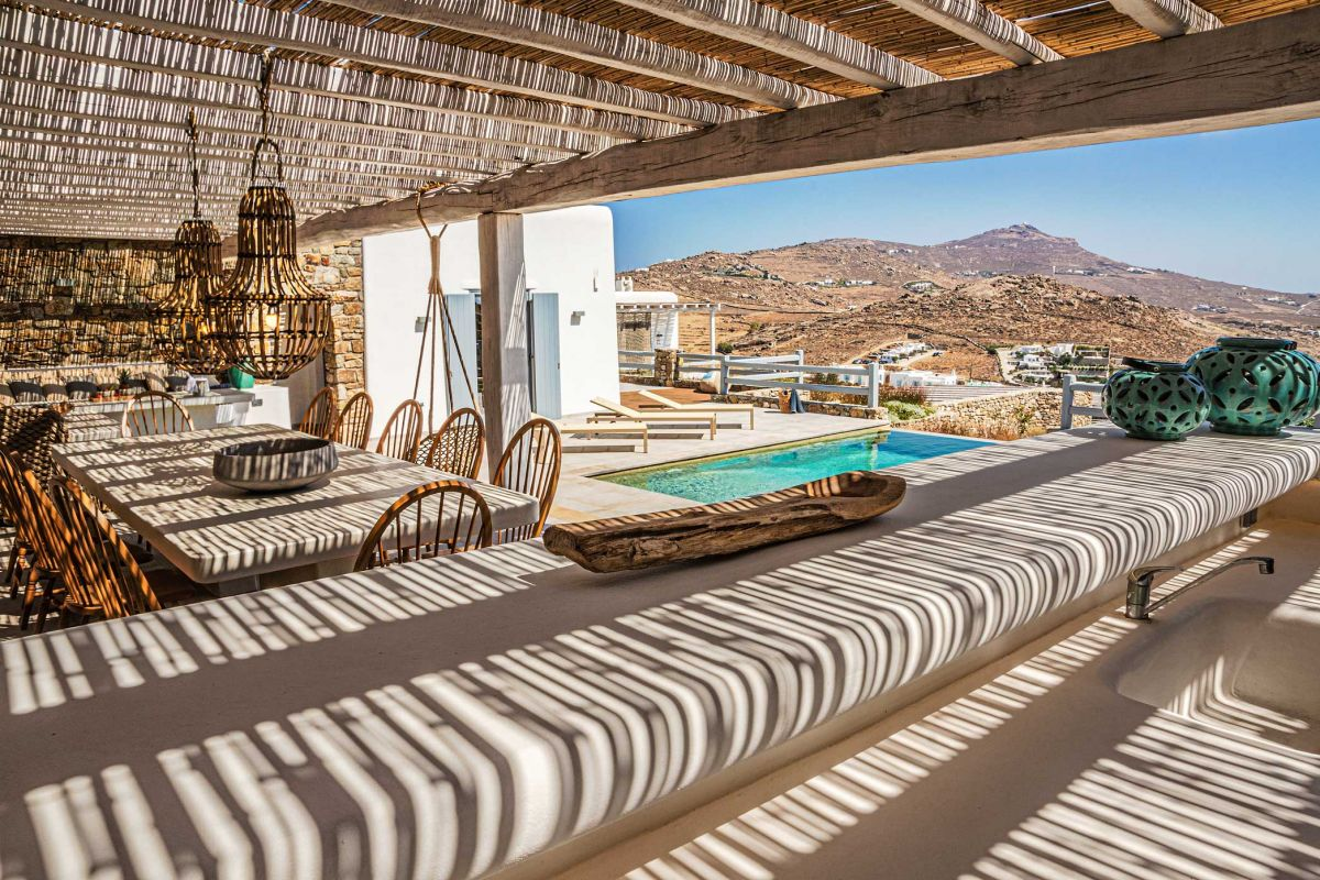mykonos beach villas kalafatis
