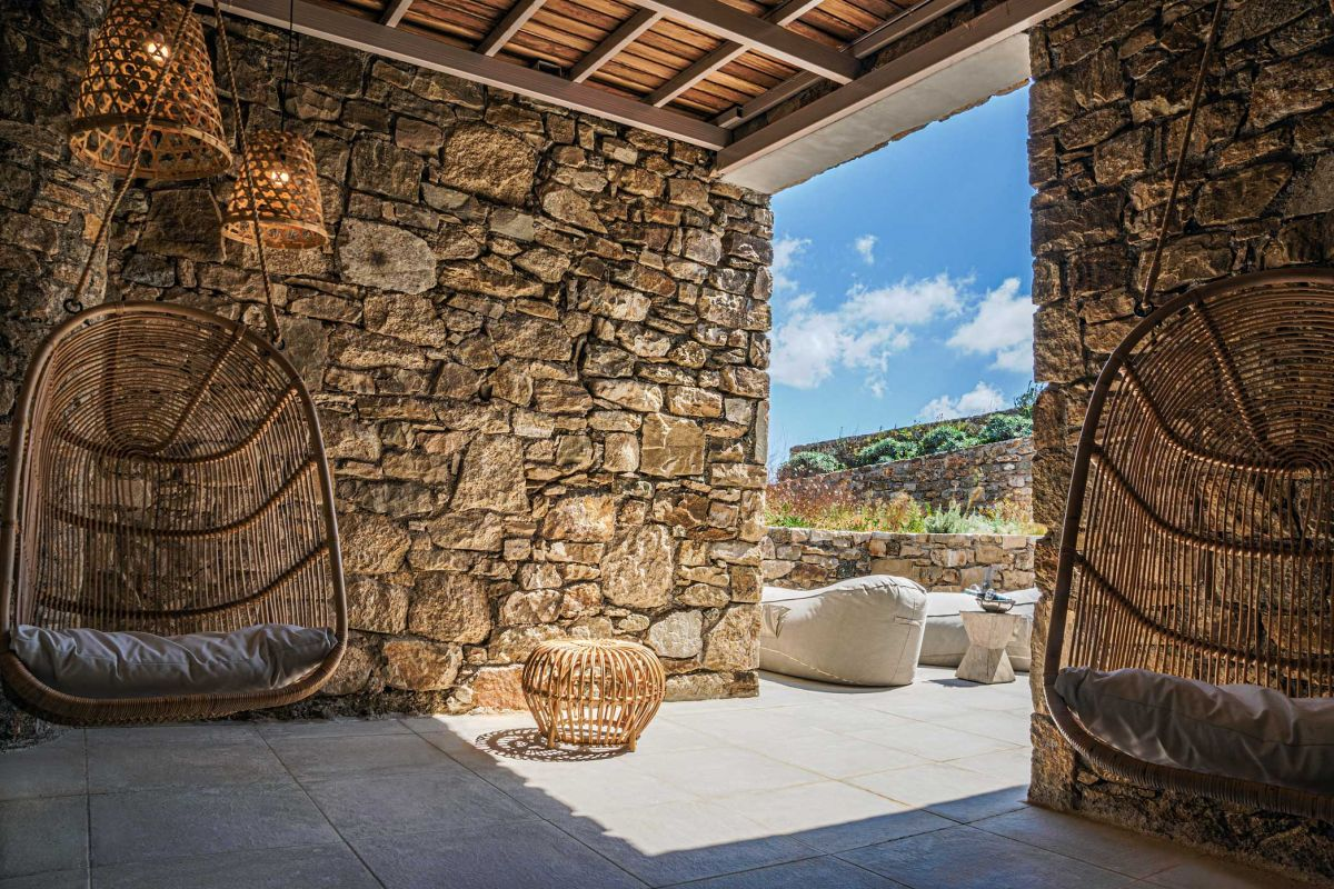 chill area mykonos house